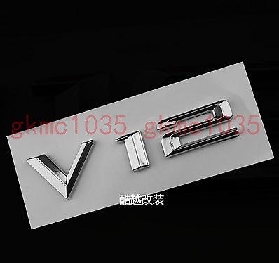 NEW V12 Emblem Badge Decal ABS Rear for BMW V12 M760 M750 X6 X5 X4 X3 X1