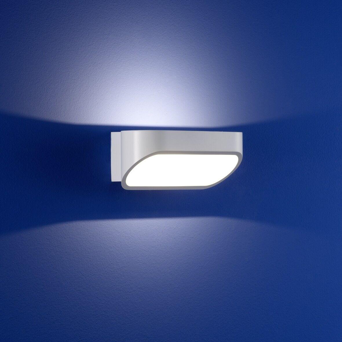 Deutsche LED Lampada Lampada Lampada da parete Bianco 6 Watt Lampada Parete UP & DOWN 7302b0