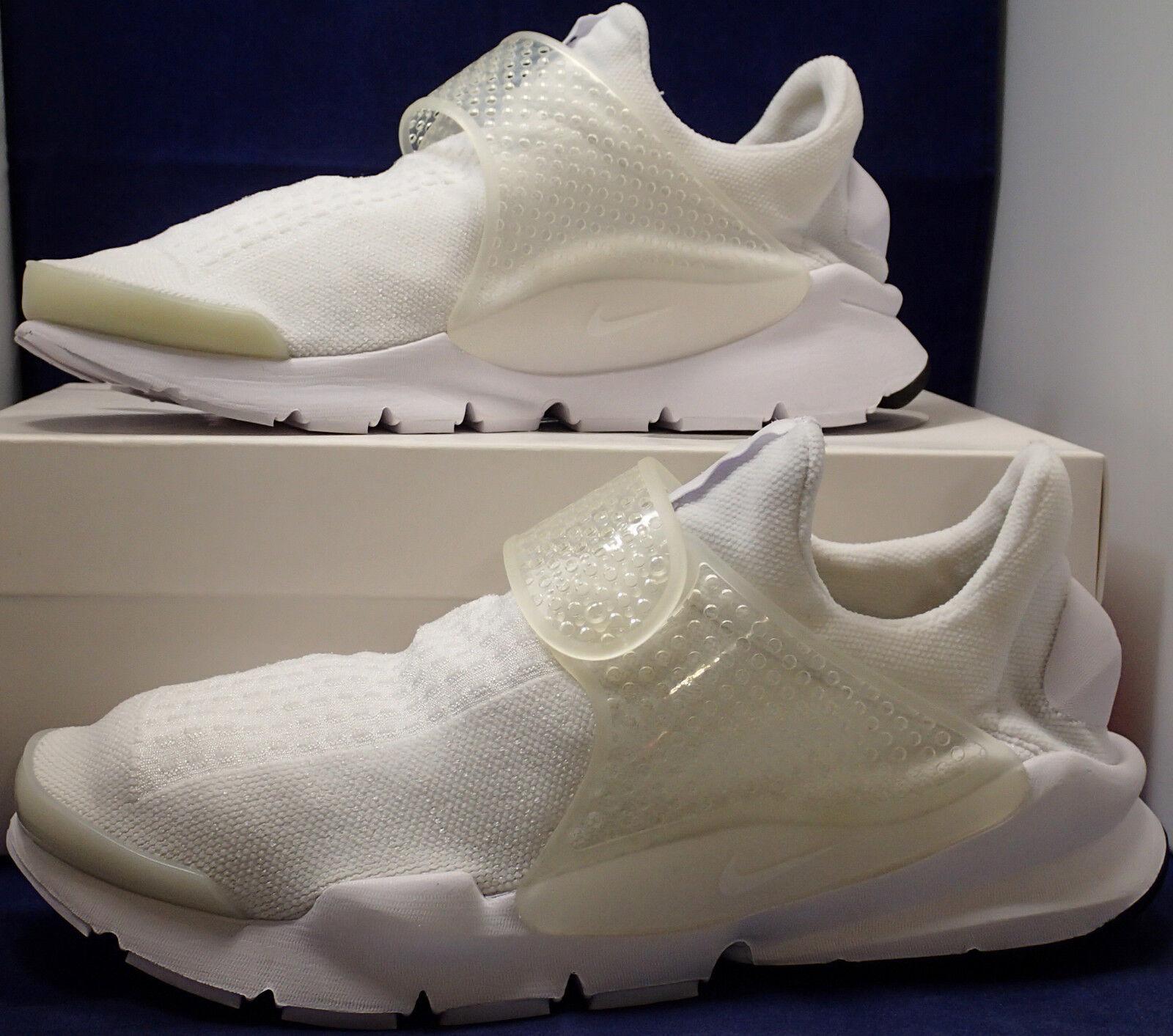 Nike Sock Dart iD vit SZ 10 (880957 -991)