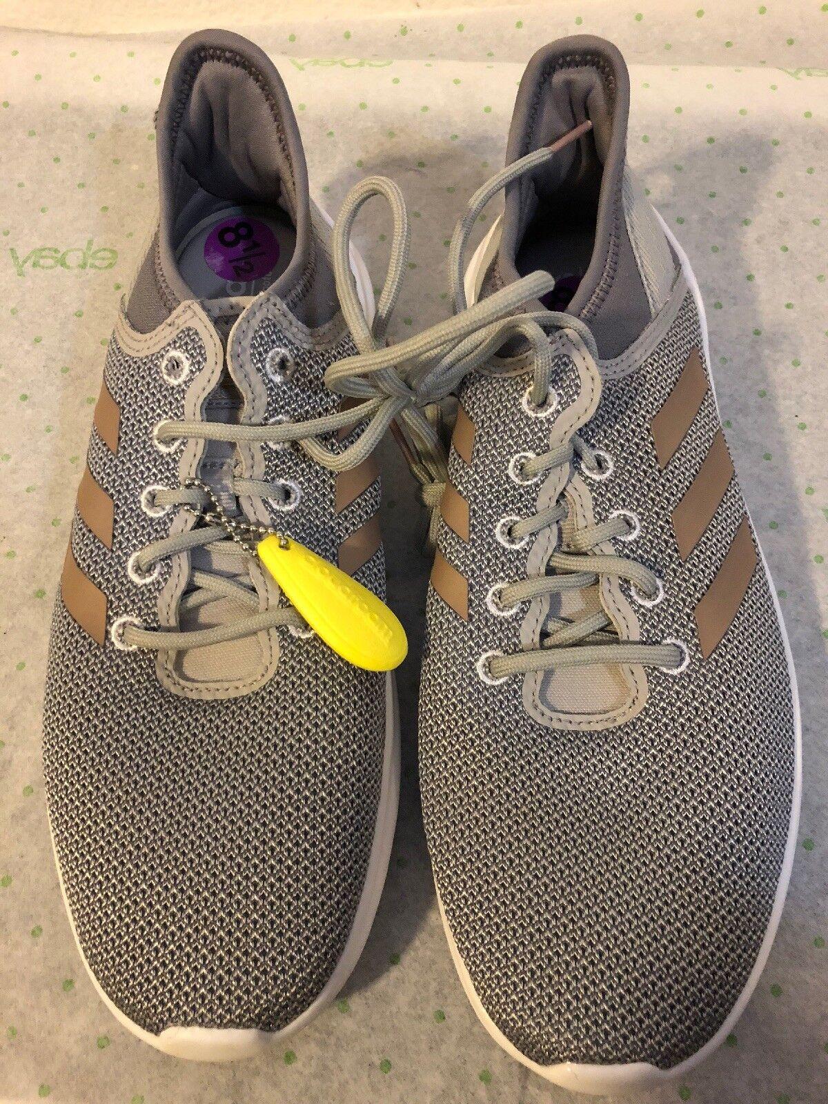 Women's Adidas CF Qtflex DA9835 Grey gold shoes Size 8.5