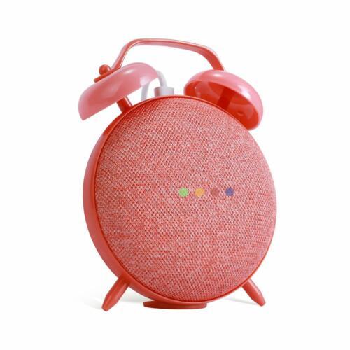 Retro Clock Case Mount Holder Stand for Google Home Mini Smart Voice Assistants