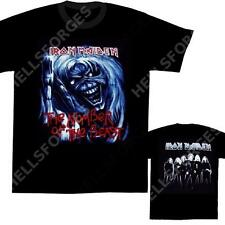 IRON MAIDEN T-SHIRT Number Of The Beast #3 NEUF tee XL