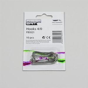 Fresh Fish Hooks 4/0 / Carp-Lure Fishing