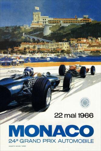 Monaco GP 1966 Race print
