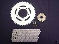Kawasaki Zr1200 Zrx1200r Sprocket & O-ring Chain Set 01-05