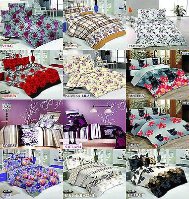 ThreeL 100% Cotton Bed Linen Duvet Cover Bedding Set