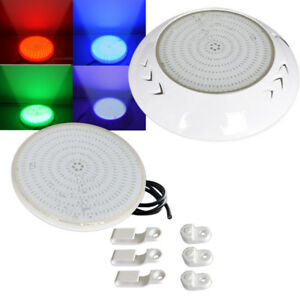 Details about 18W 42W Resin Filled RGB / Cool White LED Swimming Pool Light  with Remote Switch