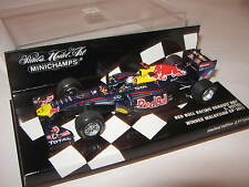 1:43 RED BULL RB7 S. Vettel Winner Malaysia GP 2011 410110101 MINICHAMPS Neu OVP