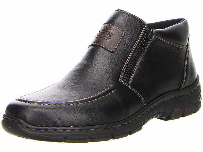 Rieker 19994-00 Herrenschuhe Stiefel Stiefel Stiefeletten schwarz Gr.40-47 Neu3