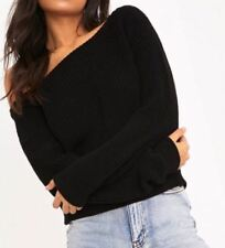 item 4 Womens Off Shoulder Slash Neck Knitted Cropped Jumper Top Ladies  Winter Sweater -Womens Off Shoulder Slash Neck Knitted Cropped Jumper Top  Ladies ... 23e3f40d8