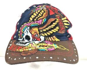 Ed Hardy Unisex Baseball Hat New York City Eagle Skull Snake Cap ... 251791dfa99