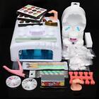 Pro 36W UV Lamp Light Cure Dryer Gel Polish Nail Art Tips File Glitter Kit Set