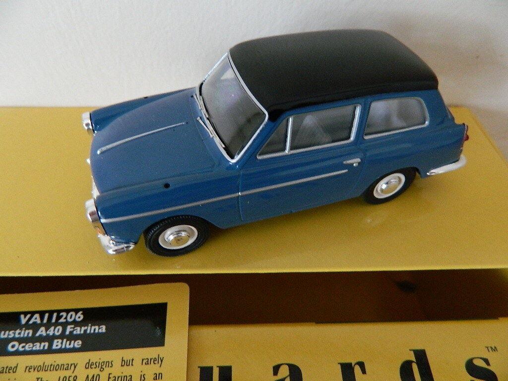 Vanguards Corgi VA11206 Austin A40 A40 A40 Farina Océano Azul e9dd80