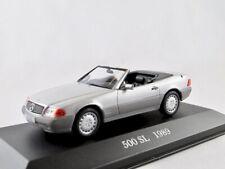 Baujahr 1989 silber 1:43 Ixo Altaya R129 Mercedes Benz 500 SL