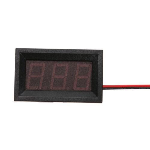 0.56inch LED Display DC 4.5-30V Two-wire Digital Voltmeter