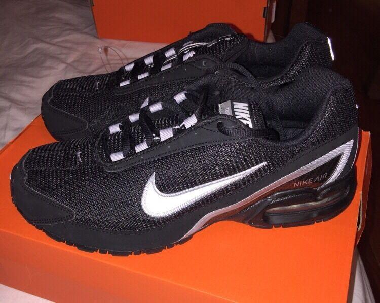 Nueva Nike overplay VIII el baloncesto de los los de hombres de negro zapatos comodos venta de liquidacion de temporada d1b214