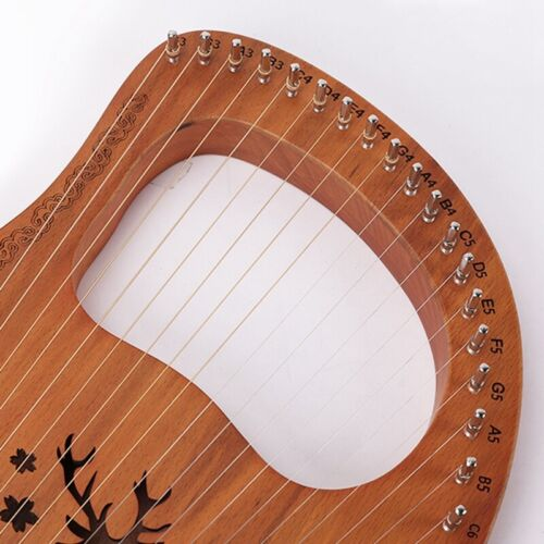 Lyre Harp String Lyre String Kleine Harfe Saiten Zubehör Musik Instrument G3C9