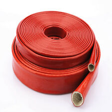 4 70mm Red Heat Resistant Sleeving Cable Wire High Temperature Sleeve 1meter