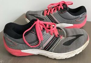 2cf61f312a4 Brooks Pure Cadence 6 Gray Pink Athletic Running Shoes Women s Size ...