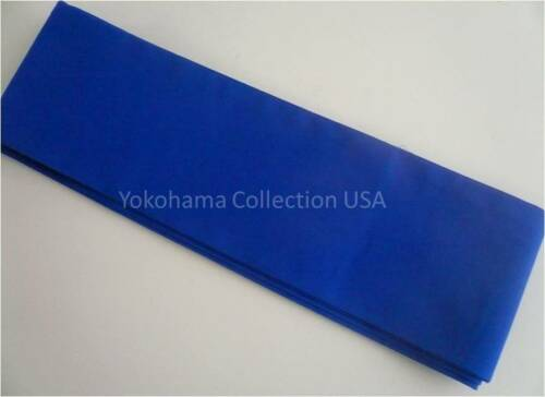"Japanese Sash OBI Cotton Belt Kimono Yukata Wedding Royal Blue 4/"" W x 110/"" L"