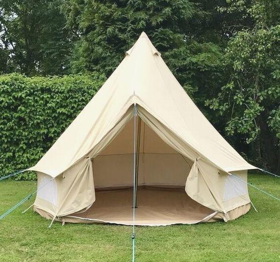 100% Baumwolle Leinen 3 Meter ZIG RundZelt Von Bell Tent Boutique