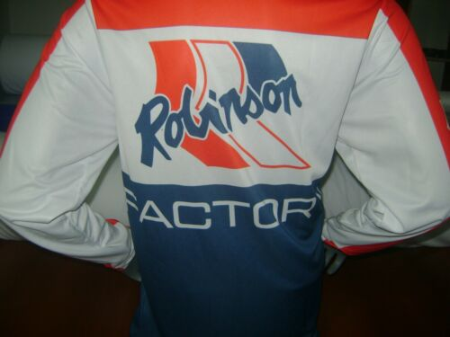 ROBINSON OLD SCHOOL BIKE JERSEY CLASSIC BMX JERSEY RACE BIKE SHIRT VINTAGE XXXL