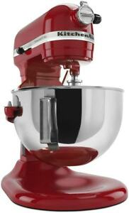 NEW! KitchenAid Professional 5 Plus Series 5Qt Stand Mixer - Empire Red