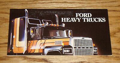 Original 1984 Chevrolet Truck 6.2 Liter Diesel Sales Brochure 84 Chevy Pickup