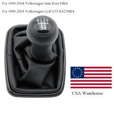 Usa Stock For Vw Golf Bora Jetta Mk4 1999 05 5 Speed Gear Shift Boot Knob Gaitor Fits Jetta