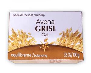GRISI-OAT-AVENA-NATURAL-SOAP-Balancing-3-5-oz-Scented-Bar-Hand-Face-Jabon-1-Pack