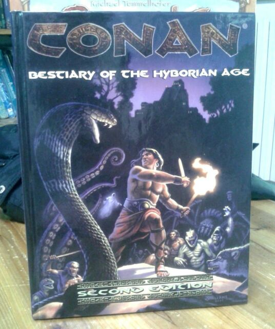 Conan RPG Second Edition Bestiary of the Hyborian Age Mongoose