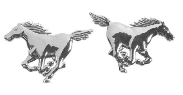 EMBLEMA 3D CROMATO - 2 HORSES PILOT