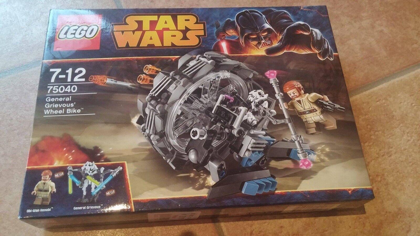 LEGO StarWars General Grievous' Wheel Bike (75040) Neu und OVP