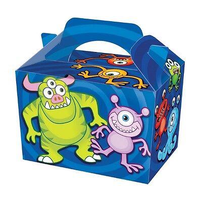 10 Superheld Essen Boxen ~ Picknick Tragetasche Mehl Kiste ~ Kinder