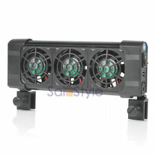 Cooling Fan (3 fans) Aquarium Chillers 120L 30 Gallons Fish Tank 12V Low Noise