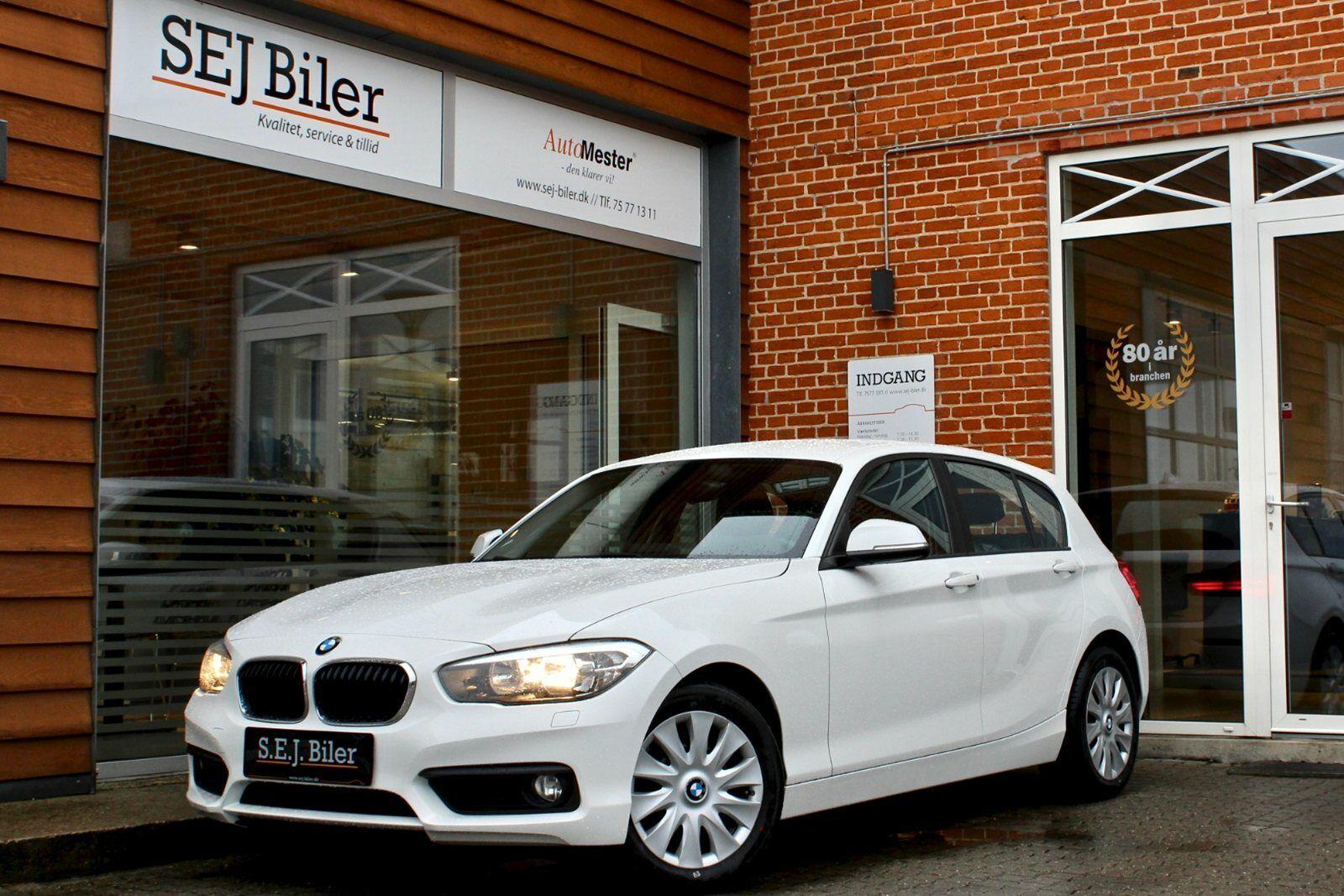 BMW 118d 2,0  5d - 217.800 kr.