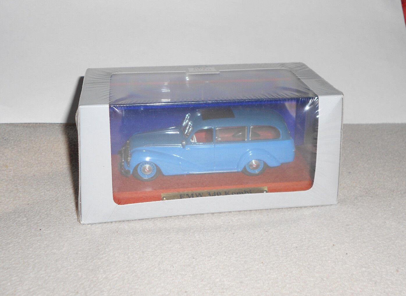 EMW BMW 340 Kombi blue  Atlas 1 43    DDR Modellauto  Neu in Folie OVP 0bcbdd