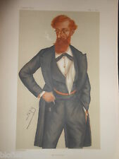 Original Victorian Vanity Fair Print; Lord Crawford, James Lindsay - May 11 1878
