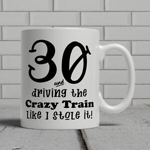 30th birthday mug funny banger cheeky gift idea husband dad father happy 30
