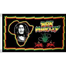 Flag Banner Jamaica Happy Face Festival//Party 5ft x 3ft 150cm x 90cm