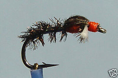 1 x Mouche peche Emergente Oreille Lievre Dadat H12//14 fly fishing trout fliegen