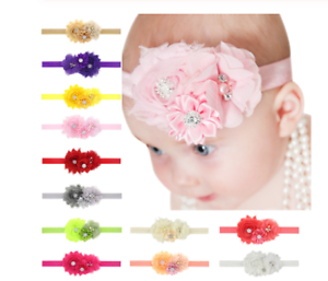 Fascia per capelli bimba neonata/Fascia elegante per bambina/Cerchi