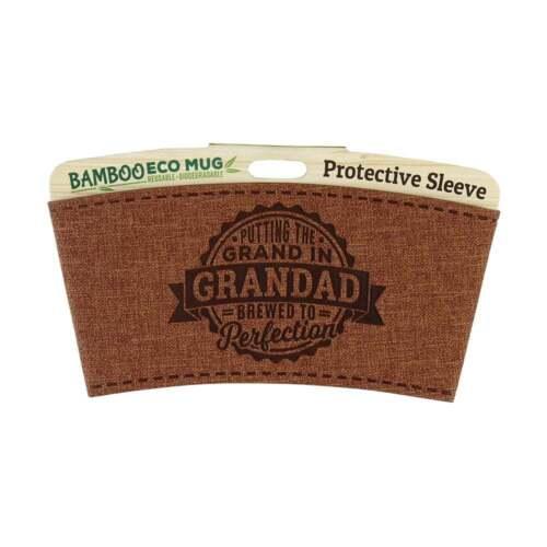 Grandad 225010008 History /& Heraldry Bamboo Eco Mug Name Wrap