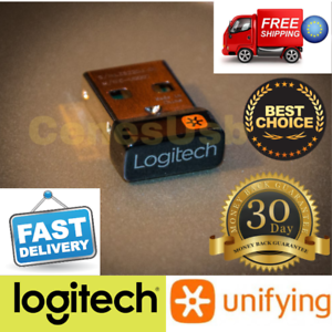 Details about New Logitech Unifying USB Receiver For Mouse / Keyboard USB  Connect 6 Devices