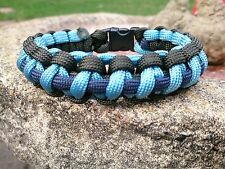 The Royal Corps of  Signals  Help For Heroes Inspired Paracord 550 Bracelet
