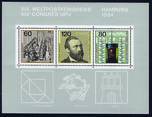 ALEMANIA-RFA-WEST-GERMANY-1984-MNH-SC-1420-UPU-Congress