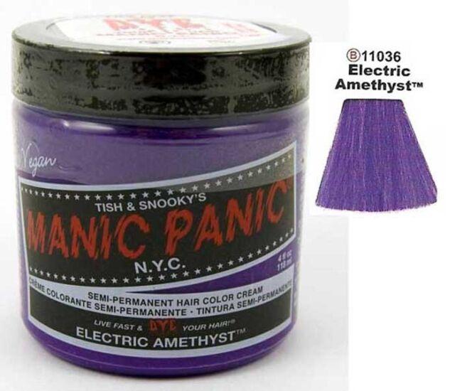 Manic Panic  Hair Dye. Vegan Cream Formula Semi-Permanent . 118ml/4 oz