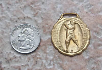 Antique Golf 1930s Golfing Golfer Medal Vintage Sports Watch Jewelry