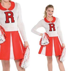 Grease College High Usa Ladies 50s Costume Cheerleader School Adult xqgxfEYw