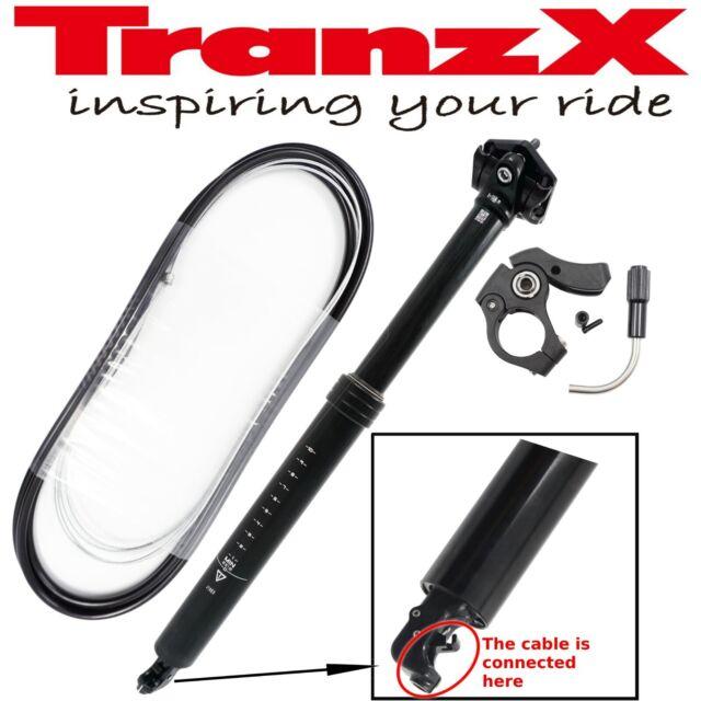 TMARS 419L 27.2 30.9 x 445mm Dropper Seatpost w//Remote Post MTB Downhill Bike
